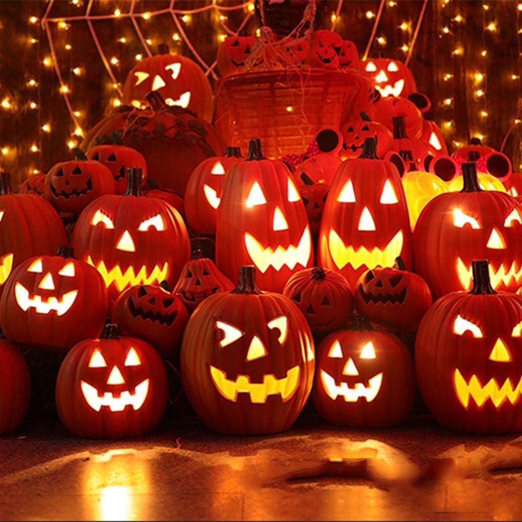 Halloween Lights Halloween Talking Animated Pumpkin with Built-in Projector /& Speaker Pumpkin Projection Lamp for Home Party Halloween Flash