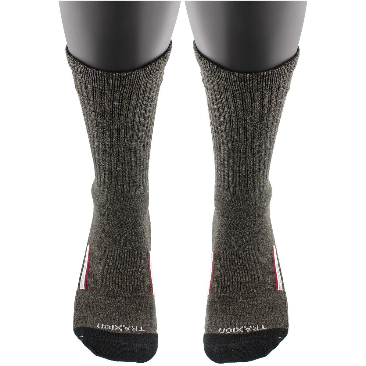 fa3ac8ac74 Amazon.com: adidas Men's Climalite X II Crew Socks (2-Pack), Black Graphite  Marl/Black/Light Onix/Collegiate Burgundy, Large: Sports & Outdoors