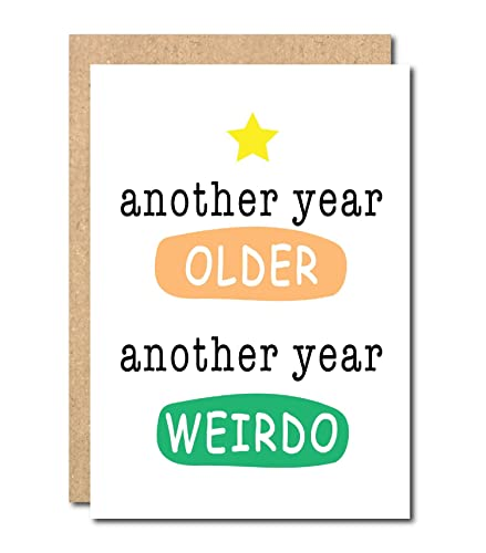 Funny Birthday Card For Friend Boss Sister Brother Twins Joke
