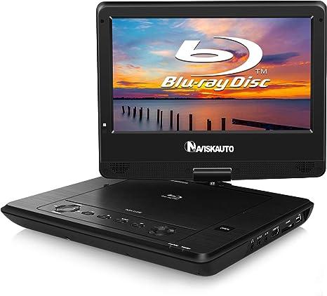 Amazon.com: NAVISKAUTO Reproductor de DVD portátil de Blu ...