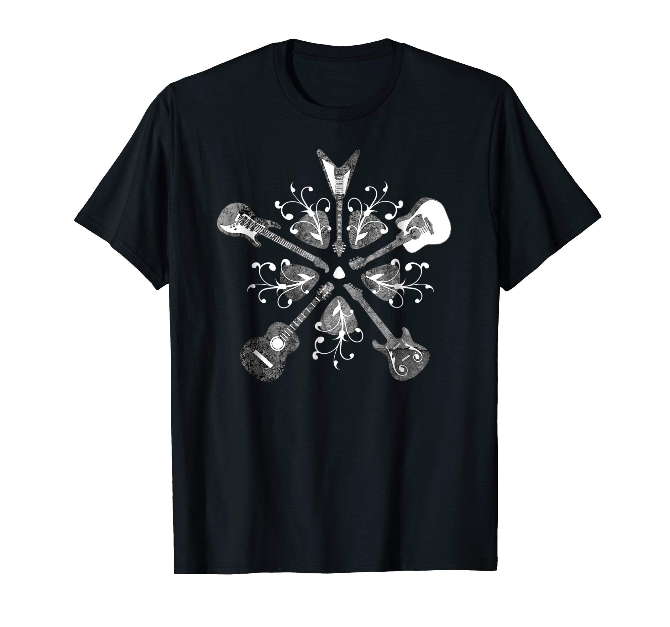 Guitar Shirt - Electric and Acoustic Guitars for Guitarists by Burke & Bunny Music Shirts & Gifts