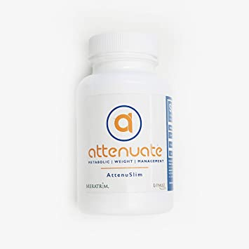 AttenuSlim by Attenuate Pro Highest Strength Meratrim® 400mg Proprietary Metabolism Boosting Pill Formula Developed by