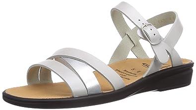 Ganter Sonnica-E, Damen Offene Sandalen mit Keilabsatz, Weiß (Weiss), 46 EU (11 UK)