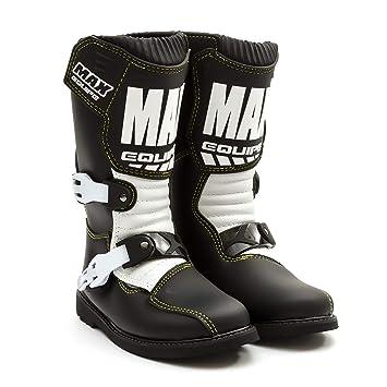 Cub Motocross Kids Junior Boots Quadbike Wulfsport Atveu Uk Max Sizes Enduro Pitbike Black Mx 38 Equipe 27 39 5 White trdhQsC