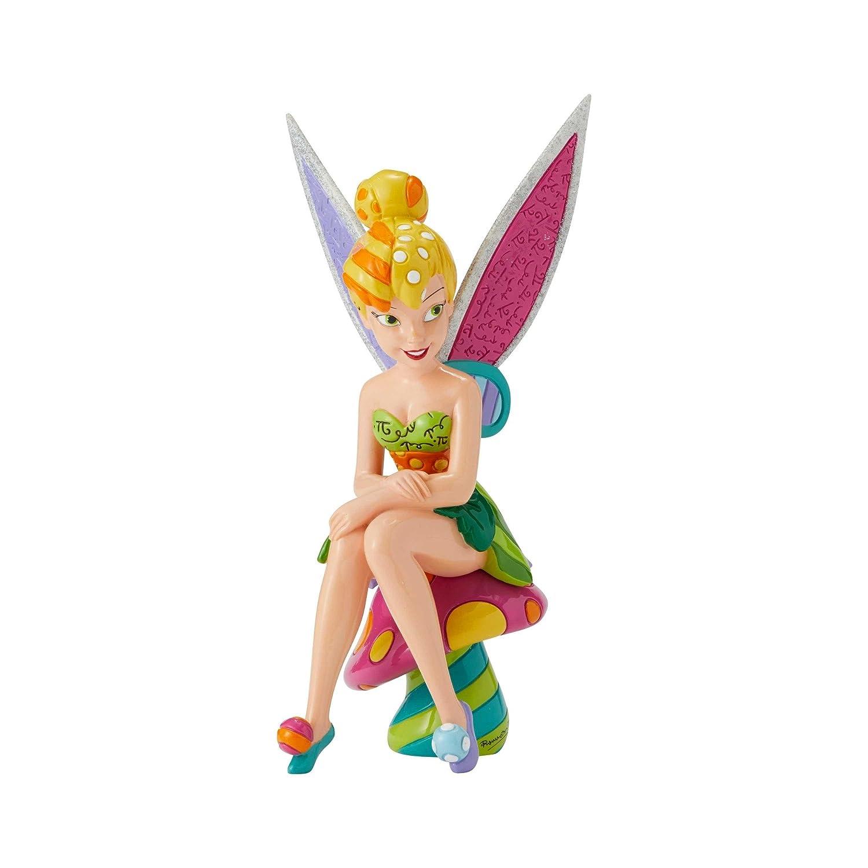 Enesco Tinker Bell Disney by Britto Line Figurine, 8.86 Inches, Multicolor