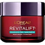 Anti-Aging Face Moisturizer, L'Oreal Paris Skin Care, Revitalift Triple Power Fragrance Free Moisturizer with Pro Retinol, Hyaluronic Acid & Vitamin C, Reduce Wrinkles, Firm and Brighten Skin, 2.55 Oz