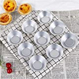 25Pack Egg Tart Molds Mould Mini Tiny Pie Muffin