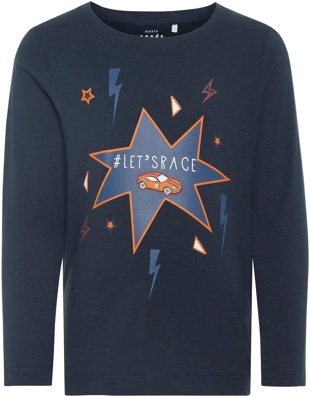 Name it Jungen T-Shirt kurzarm Gr 92-128 Shirt NMMVICTOR 100/% Baumwolle