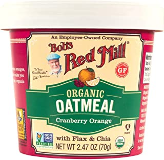 product image for BOBS RED MILL Organic Cranberry Orange Oatmeal Cup, 2.47 OZ