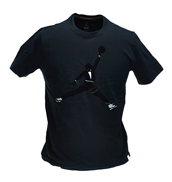 435b32118152 Amazon.com  Jordan AJXI Black Tie Men s T-Shirt Black White 576787 ...