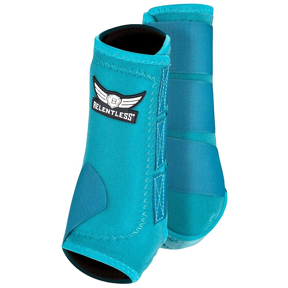 Cactus Gear Trevor Brazile Relentless All Around Front Boots M Teal