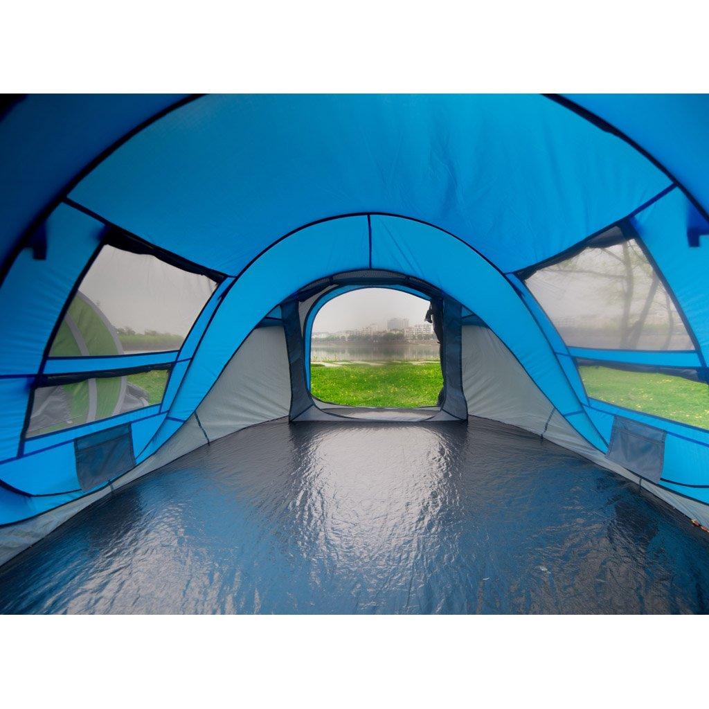 Finether 5Personen Wasserdicht Campingzelt Zelte PopUp PopUp
