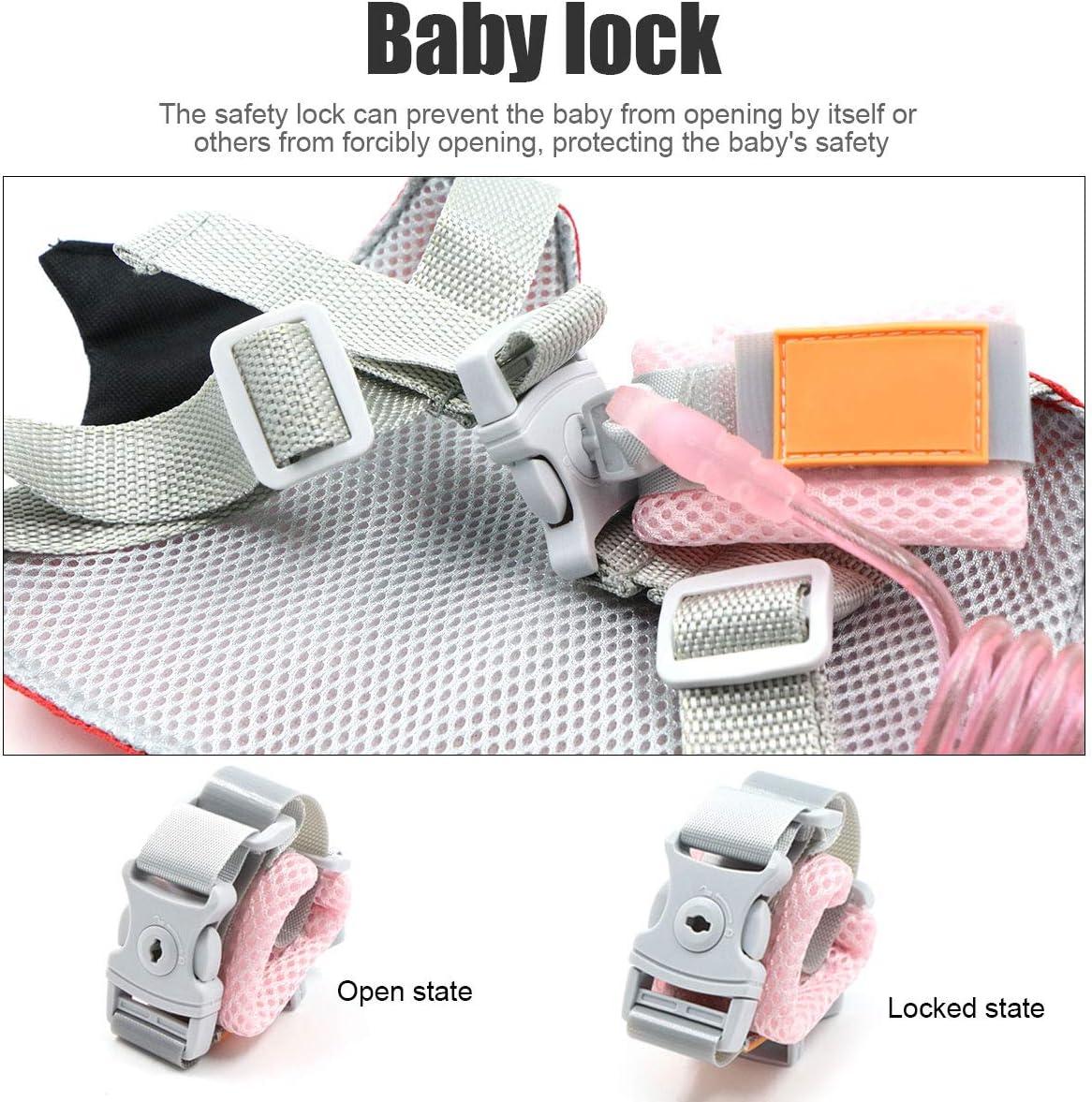arn/és de seguridad infantil Cintur/ón antip/érdida correa de seguridad para beb/é correa de seguridad para ni/ños 2 unidades correa de seguridad antip/érdida