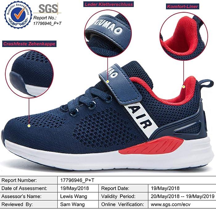 Zapatillas Running Niños Niñas Zapatos Deporte para Correr Sneakers Ligero Transpirable: Amazon.es: Zapatos y complementos