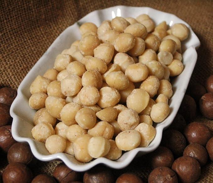 natural ix24 Macadamia Nueces sin acabar, 1er Pack (1 x 1 ...