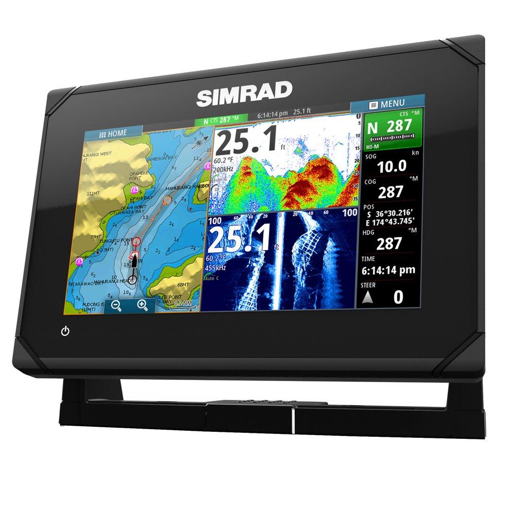 Simrad GO7 XSE 7'' Fishfinder/Chartplotter w/ Insight Mapping - No Transducer