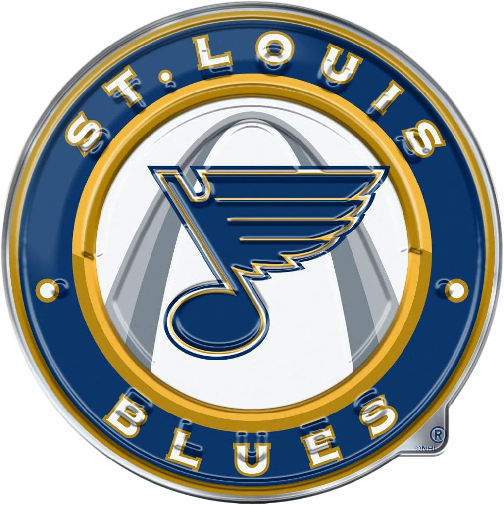 Louis Blues Color Auto Emblem FANMATS NHL St