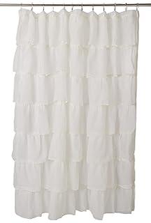 Lorraine Home Fashions 08383 SC 00051 Gypsy Shower Curtain Cream 70