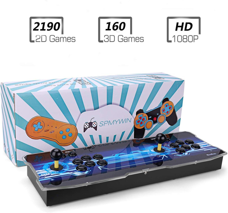Amazon.es: Spmywin 3D Pandora Key 7 Console de Jeux 2323 Jeu rétro 1080P Machine darcade rétro CPU avancé Boutons personnalisés Liste Intelligente
