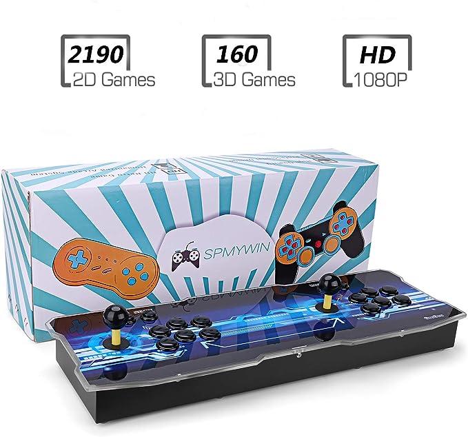 Amazon.es: Spmywin 3D Pandora Key 7 Console de Jeux 2323 Jeu rétro ...