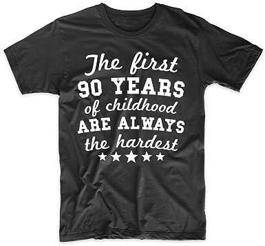 Really Awesome Shirts Mens 90th Birthday Shirt