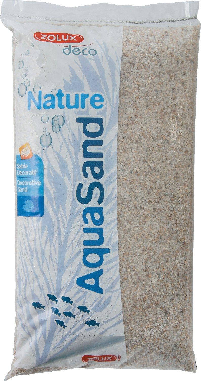 Zolux Gravier Naturel pour Aquarium Quartz Blanc de 1 à 3 mm de Granulométrie 12 kg 346484