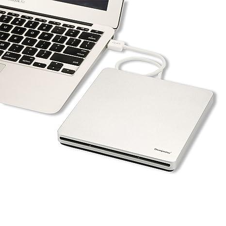 Chuanganzhuo externo USB 3.0 Ranura en DVD + RW quemador escritor ...
