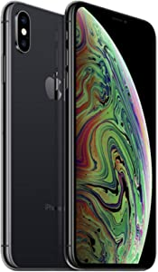 Apple iPhone XS Max, 64GB, Space Gray - Fully Unlocked (Renewed)