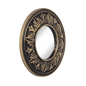 A Vintage Affair Antique Small Decorative Mirror (Copper Colour)
