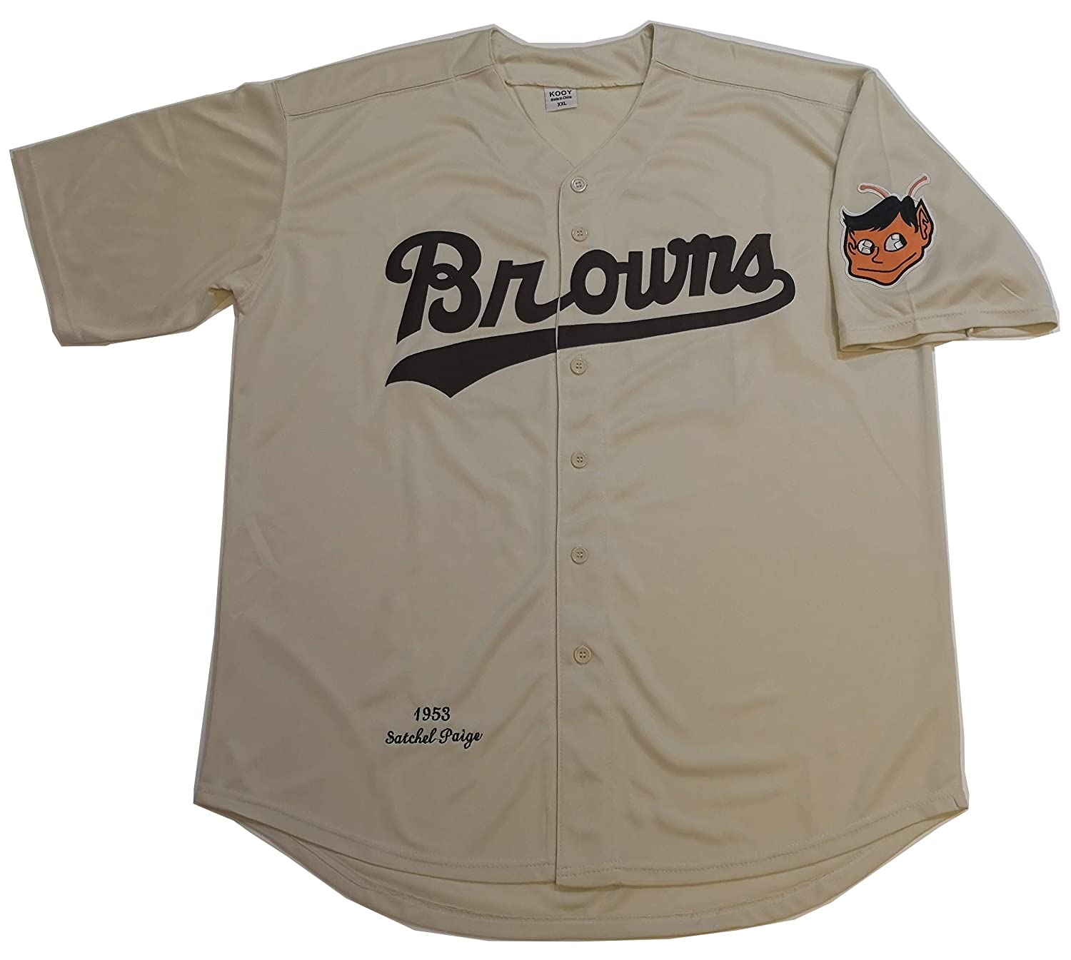 Louis Browns 1953 Throwback Vintage Baseball Jersey Kooy Satchel Paige #29 St
