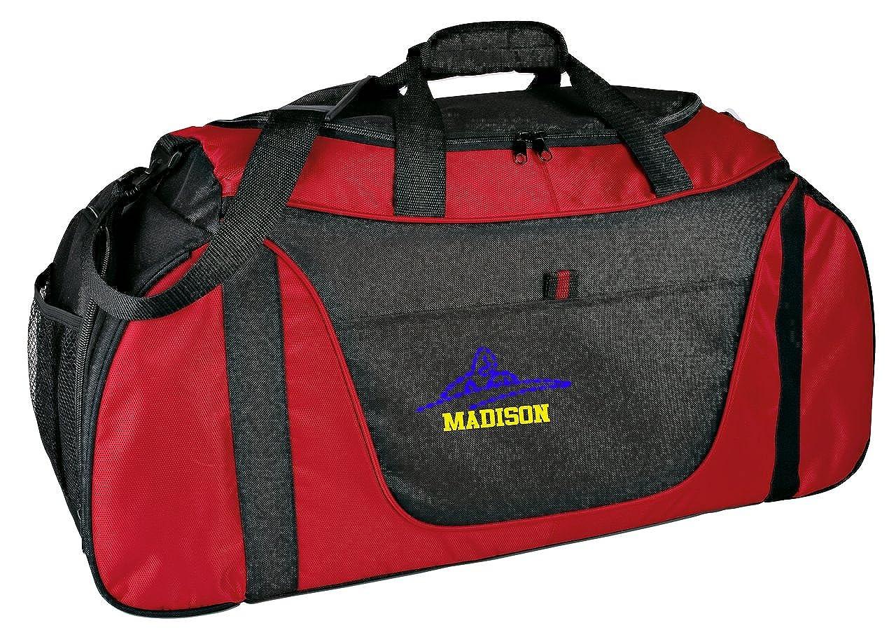 Personalized Swim Medium Two Shade Duffel Bag