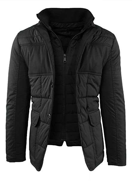 giacca trapunta elegante uomo