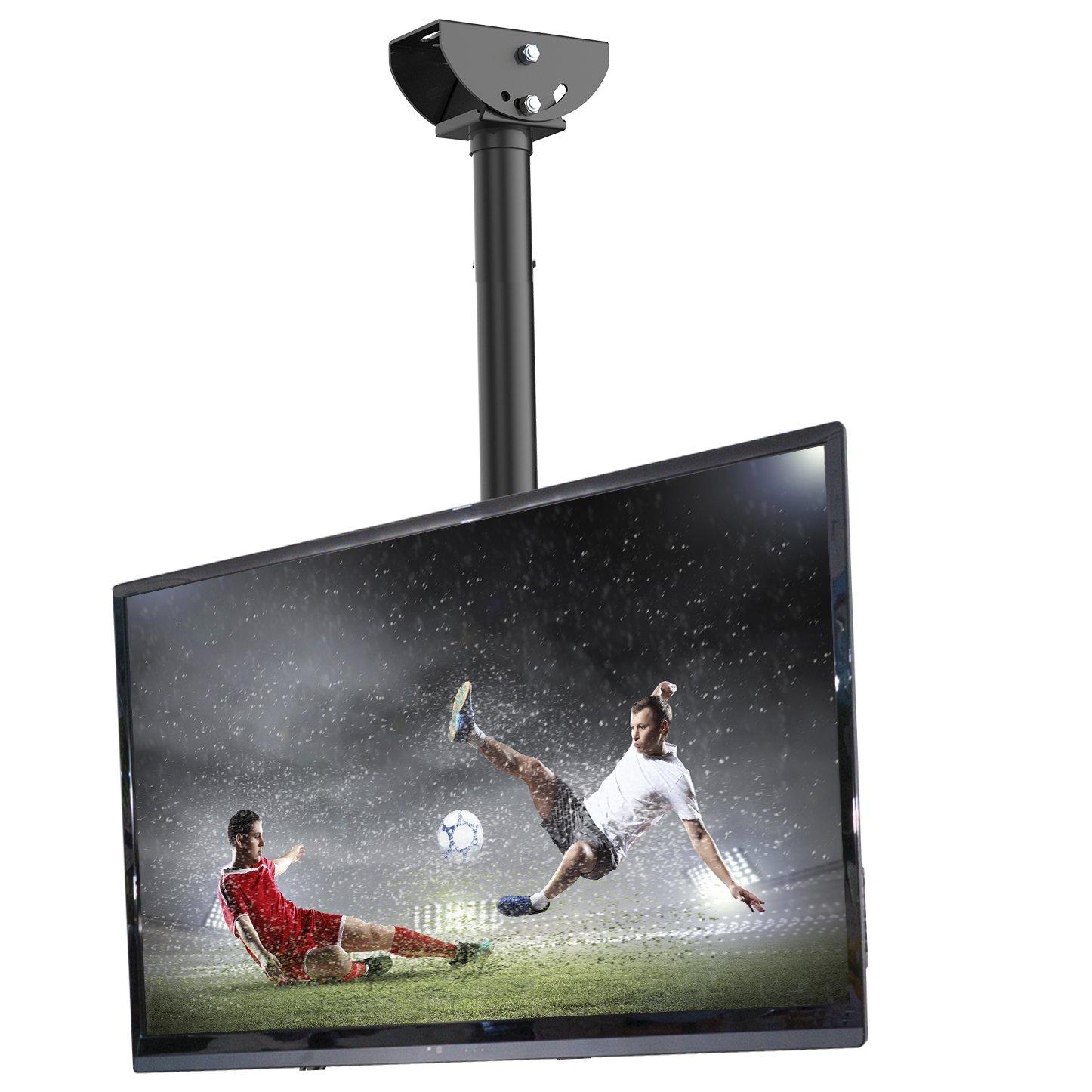 "Loctek CM1 Adjustable Tilting Wall Ceiling TV Mount Fits Most 26-55"" LCD LED Plasma Monitor Flat Panel Screen Display"