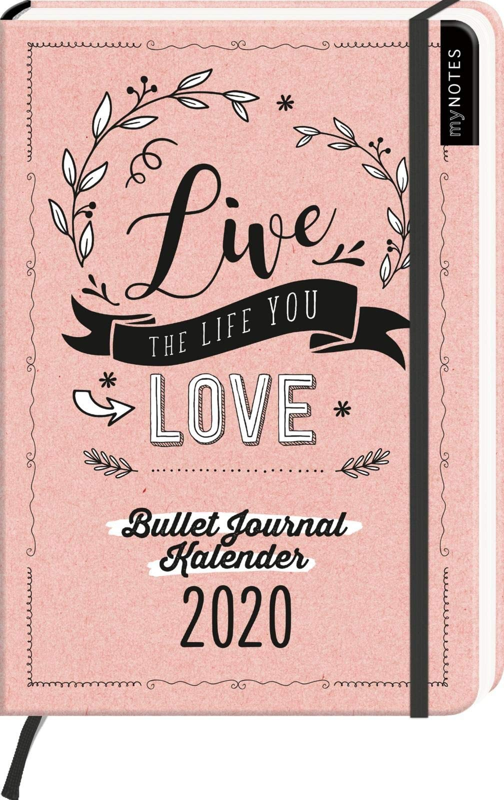 Calendrier Bullet Journal 2020.Amazon Fr Mynotes Live The Life You Love Bullet Journal