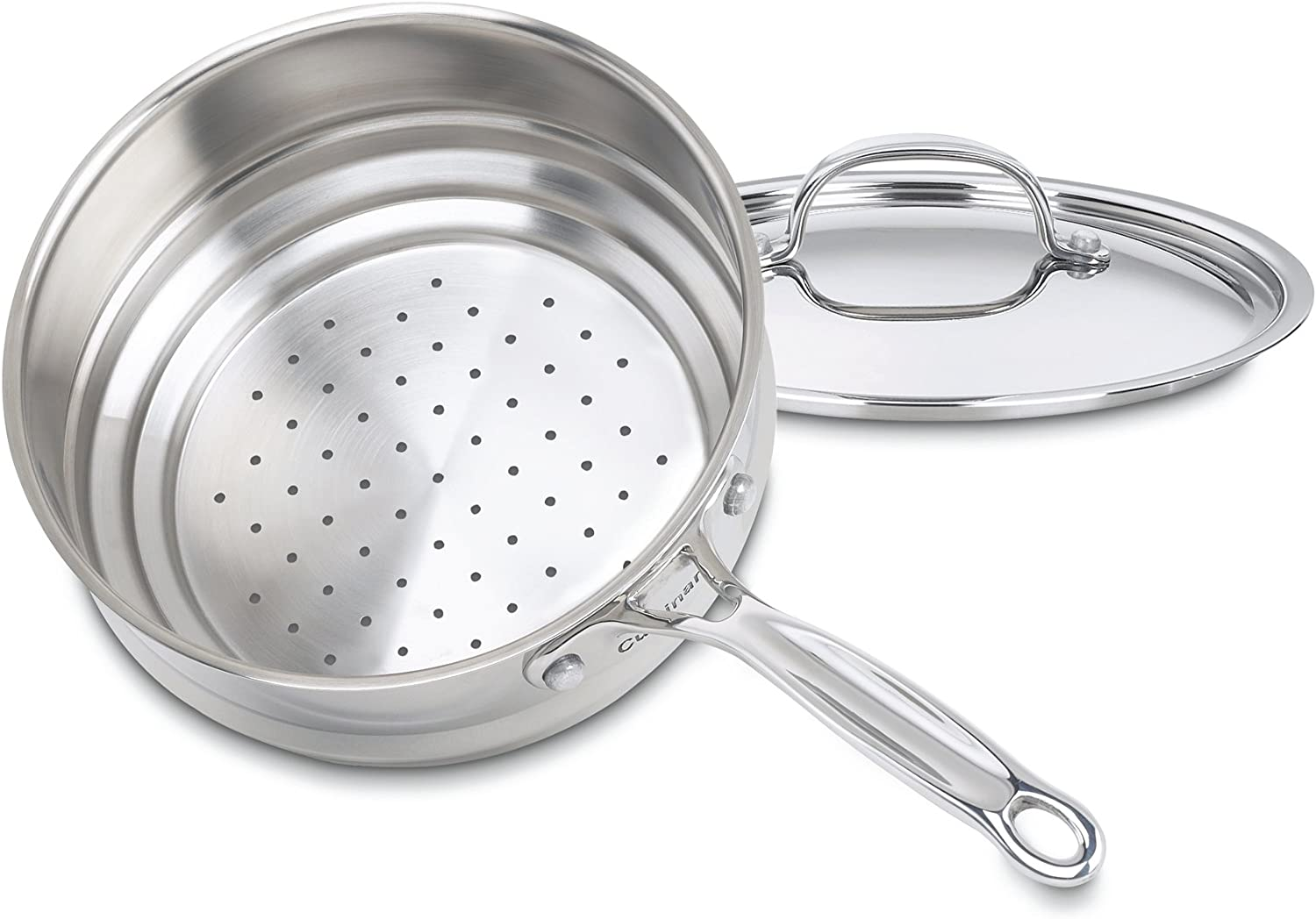 Cuisinart 7116-20 Chef's Classic 20-Centimeter Universal Steamer with Cover