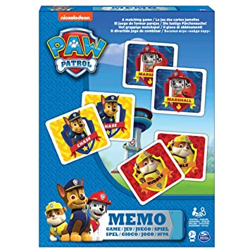 Board Games Paw Patrol - 6033301 - Memo - la Pat Patrulla ...