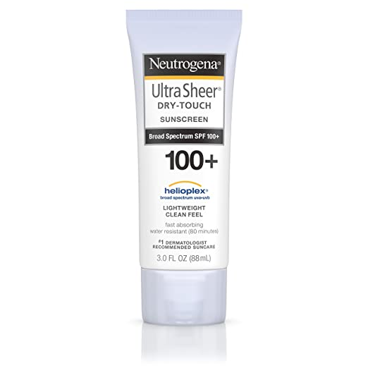 Neutrogena Ultra Sheer Dry-Touch Sunscreen - Best Sunscreen Lotion for Melasma