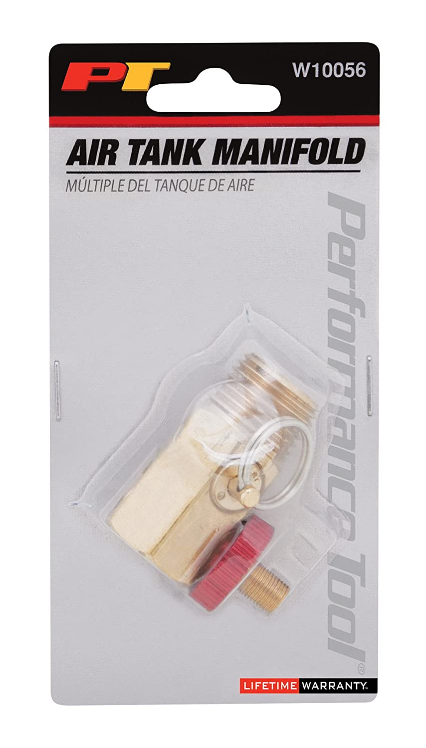 Performance Tool 0-200 PSI Air Gauge for Air Tank Accessory W10055 Wilmar Performance Tool