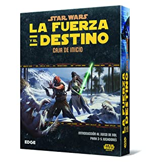 Star Wars: La Forza e Il Destino – Scatola di Home, Set da Tavolo (Edge Entertainment edgswf01)