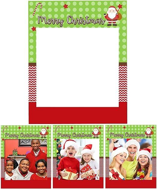 Amazon.com: Marco de fotos de Navidad para accesorios de ...
