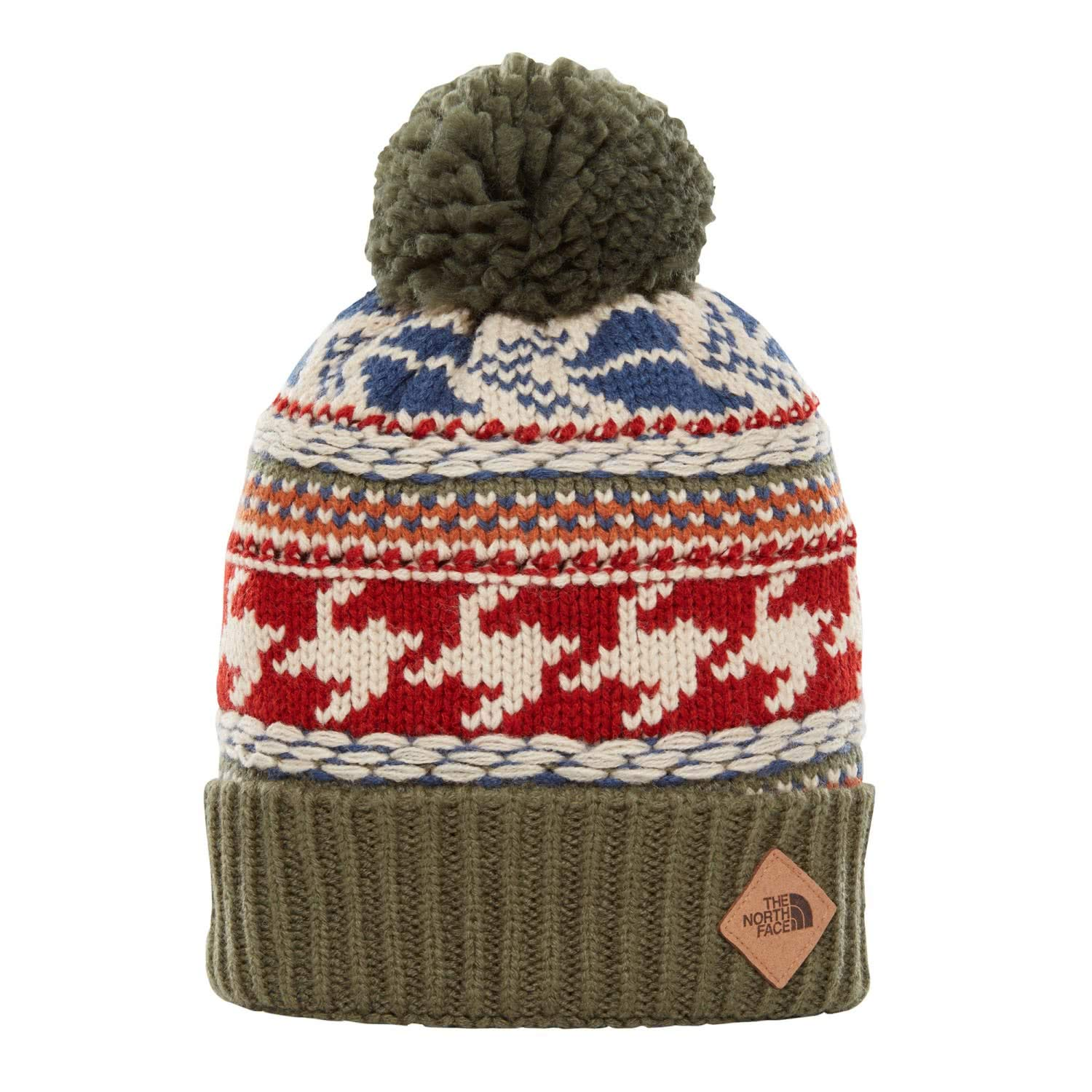 The North Face Fair Isle Beanie Four Leaf Clover Multi OS