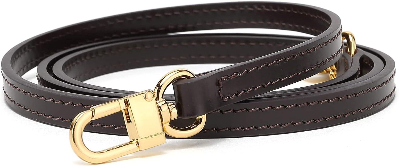 100cm Vachetta Leather Strap for Shoulder Bag Long Cross Body Strap for Small Bags Pochette Mini NM Eva Favorite PM MM Vachetta Strap 39 inches