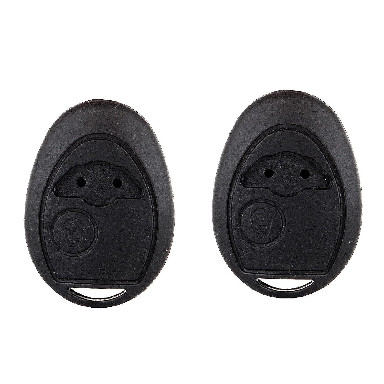 ECCPP 2リモートキーヘッドケースシェル交換用02 – 05 Mini r50 r53キーレスエントリFob B01IF0R8LA