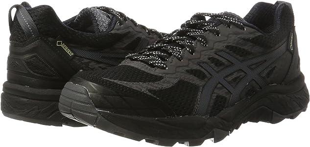 Asics Gel-Fujitrabuco 5 G-TX, Zapatillas de Running para Asfalto para Mujer, Negro (Black/Dark Steel/Silver), 39 EU: Amazon.es: Zapatos y complementos