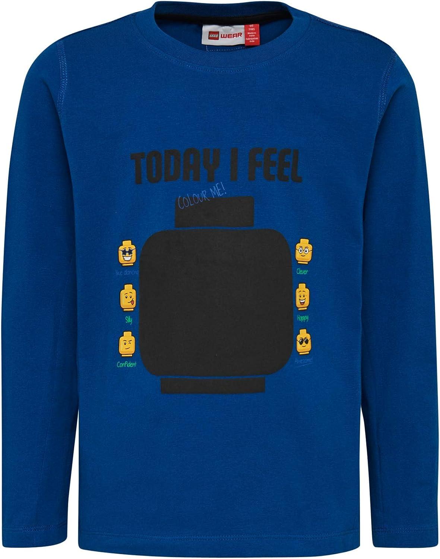 Lego Wear Boys Lego Lwtiger Beschreibbar Mit Kreide Longsleeve T-Shirt