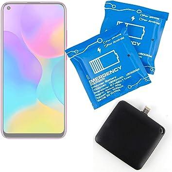 DURAGADGET Batería de Emergencia desechable Compatible con Smartphone Energizer Energy E241, Energizer Energy E241s, Honor Play 3 3 Unidades.: Amazon.es: Electrónica