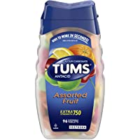 Amazon.com deals on 96-Ct TUMS Antacid Chewable Tablets for Heartburn Relief