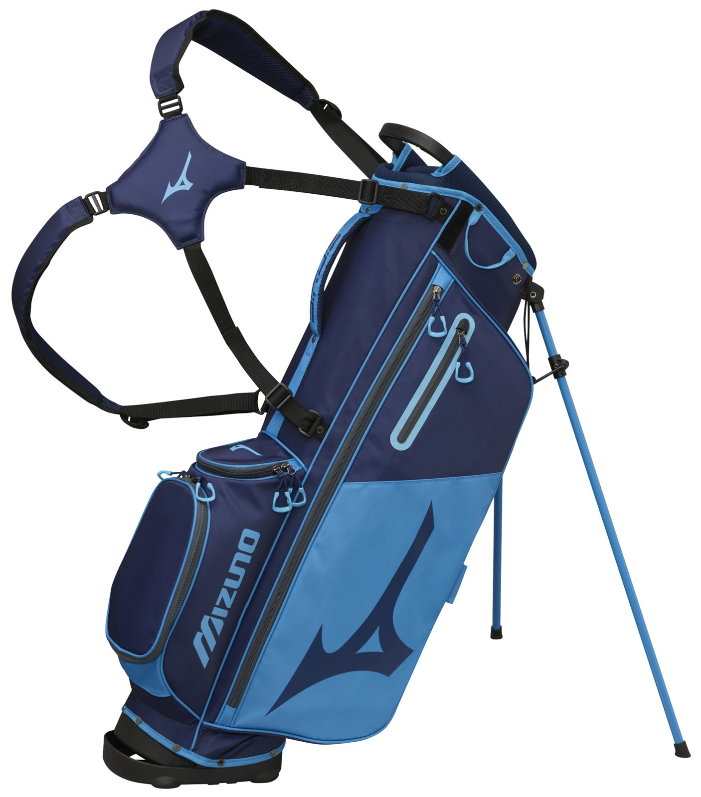 Mizuno 2018 BR-D3 Stand Golf Bag, Navy/Light Blue