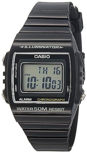 3093d571eb6 Casio Reloj Digital para Unisex de Cuarzo con Correa en Resina  W-215H-1AVEF  Amazon.es  Relojes