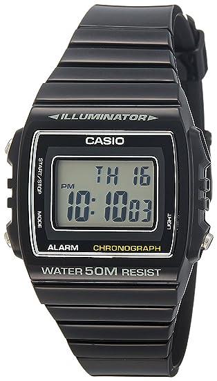 6510c5caa3c9 Casio Reloj Digital para Unisex de Cuarzo con Correa en Resina  W-215H-1AVEF  Amazon.es  Relojes